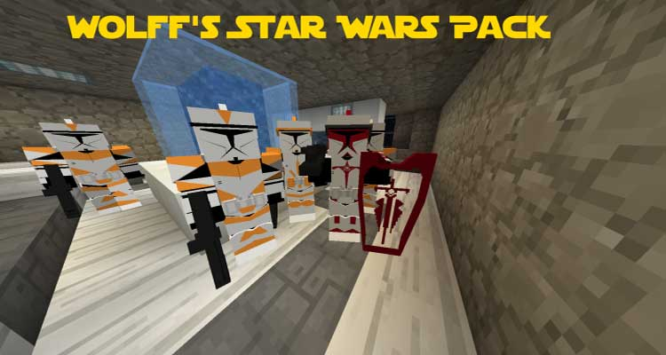 Wolff's Star Wars Pack for Flan's Mod