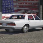 1990 Chevrolet Caprice Civilian Sedan [Replace] 1.0