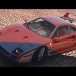 1990 Ferrari F40 (US-Spec) [Add-On | LODs | Template] 1.0
