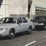 1998 Ford Crown Victoria Civilian Sedan V1