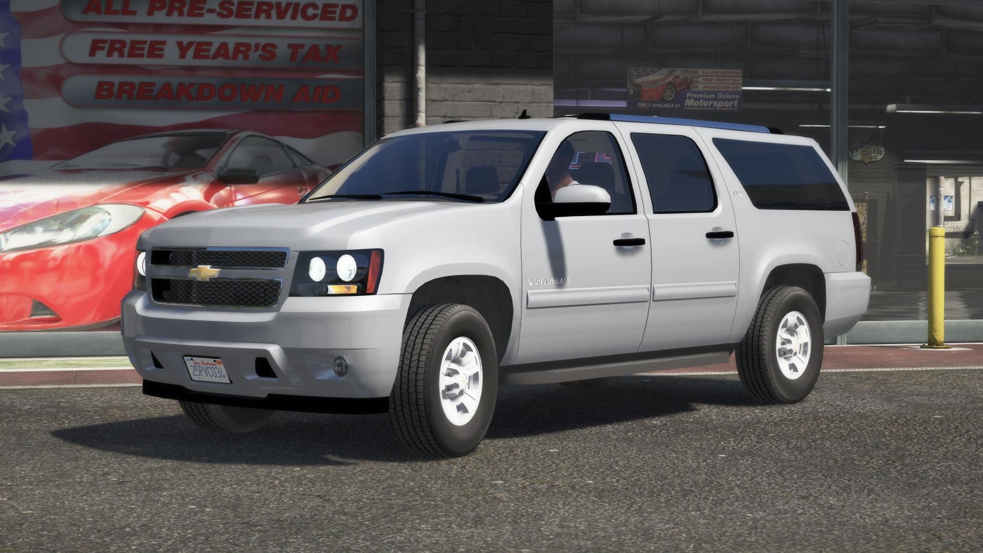 2008 Chevrolet Suburban Civilian SUV [Replace] 1.0
