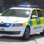 2015 South East Coast Ambulance Skoda Octavia RRV [ELS] [REL] 1.0