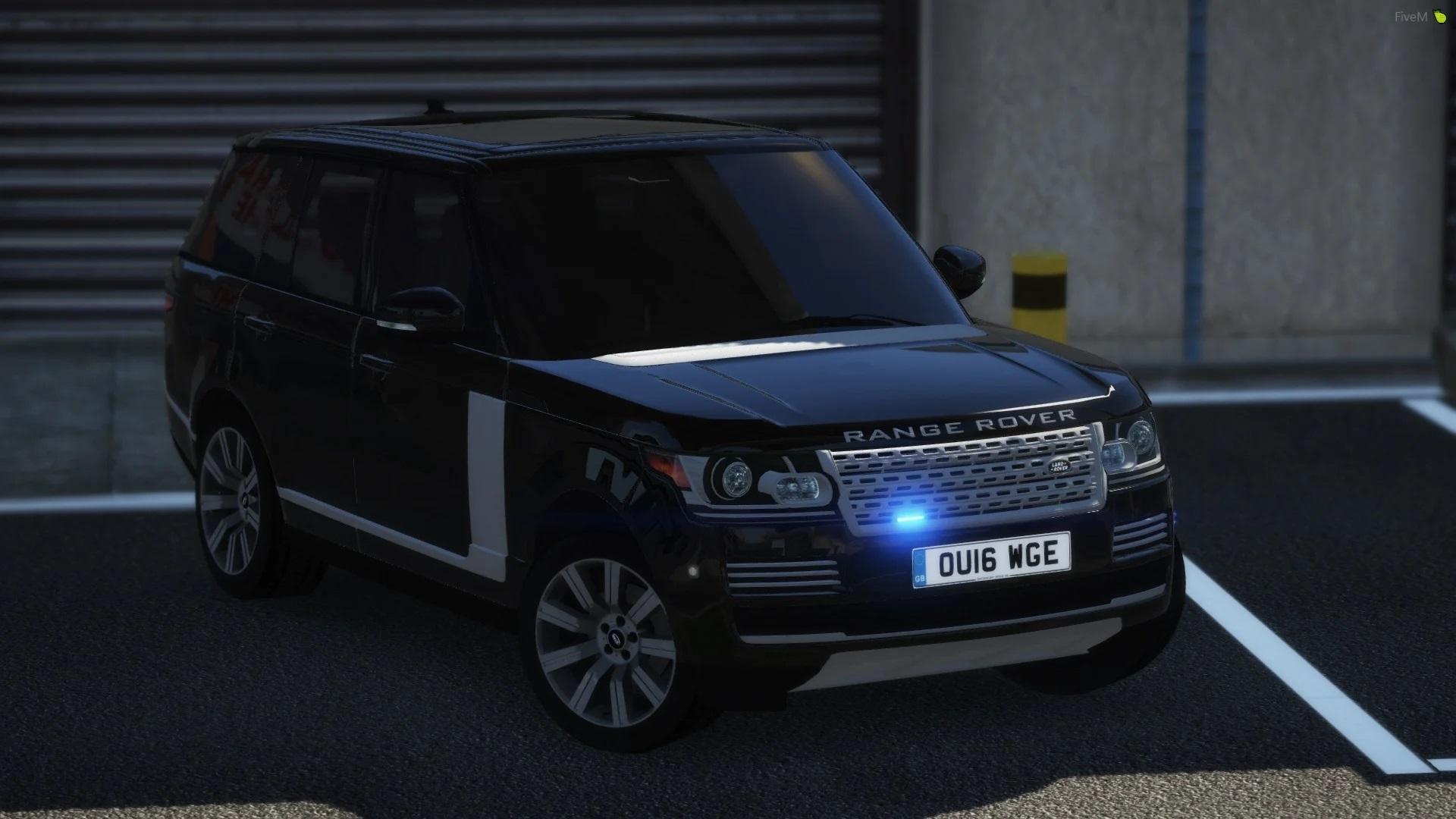 2016 Police Range Rover Vogue Unmarked [ELS] 1.0