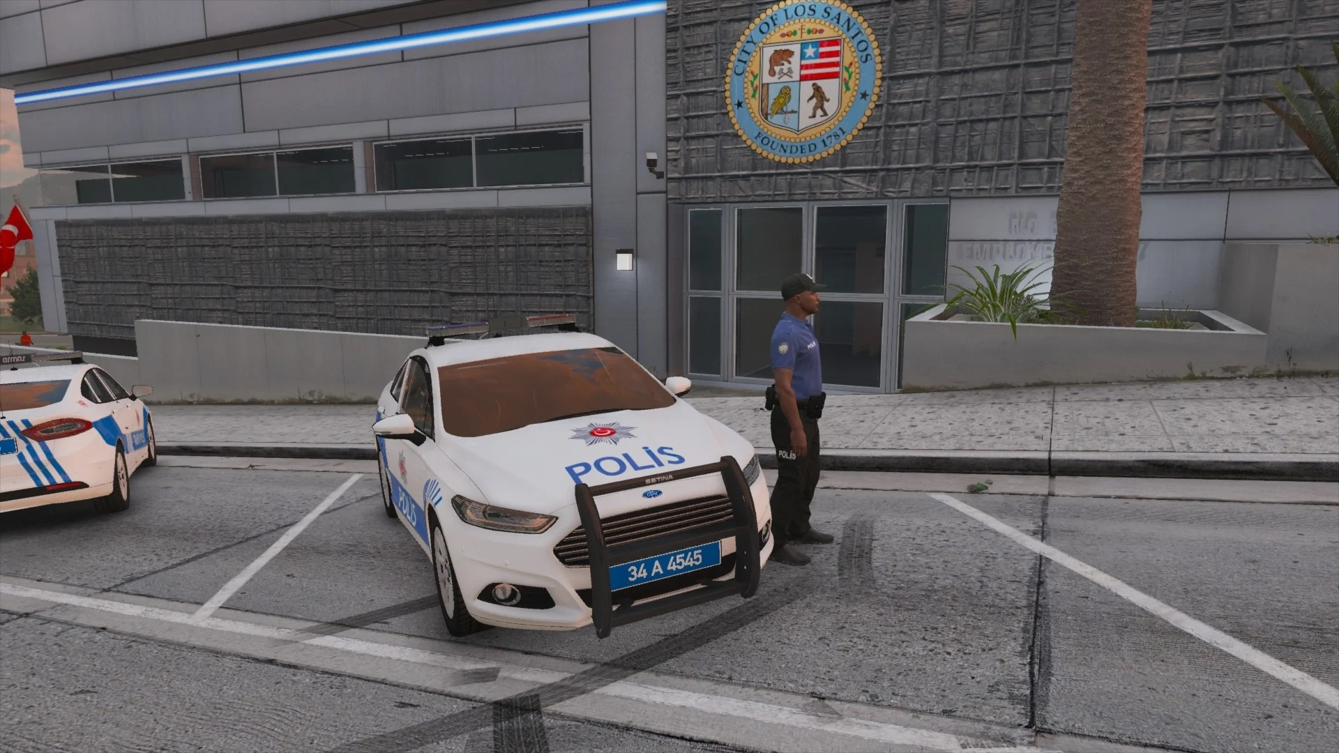 2017 Ford Fusion - Turkish Police [ELS] 1.2 [Crash F?XED!]