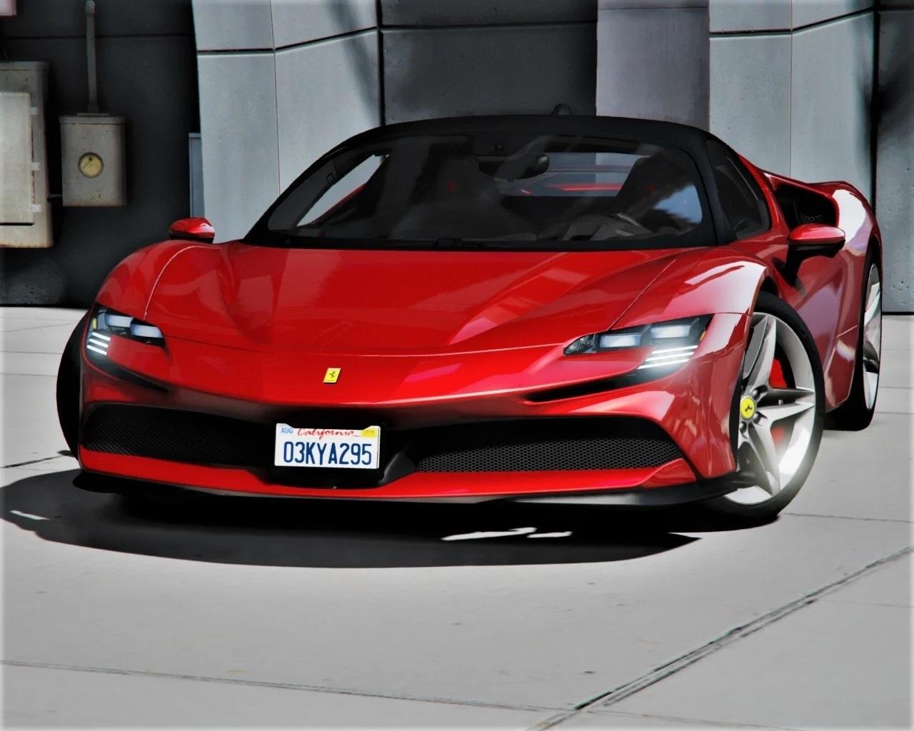 2020 Ferrari SF90 Stradale [Add-On   LODs   Template] 1.0