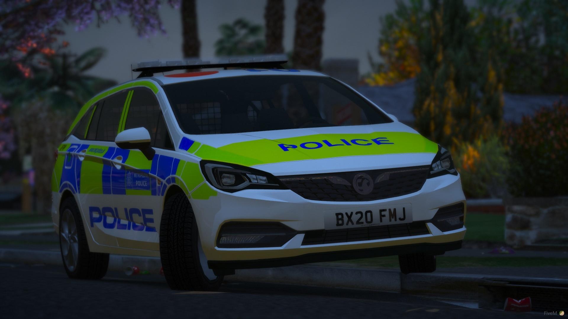 2020 Metropolitan Police Vauxhall Astra IRV 1.0