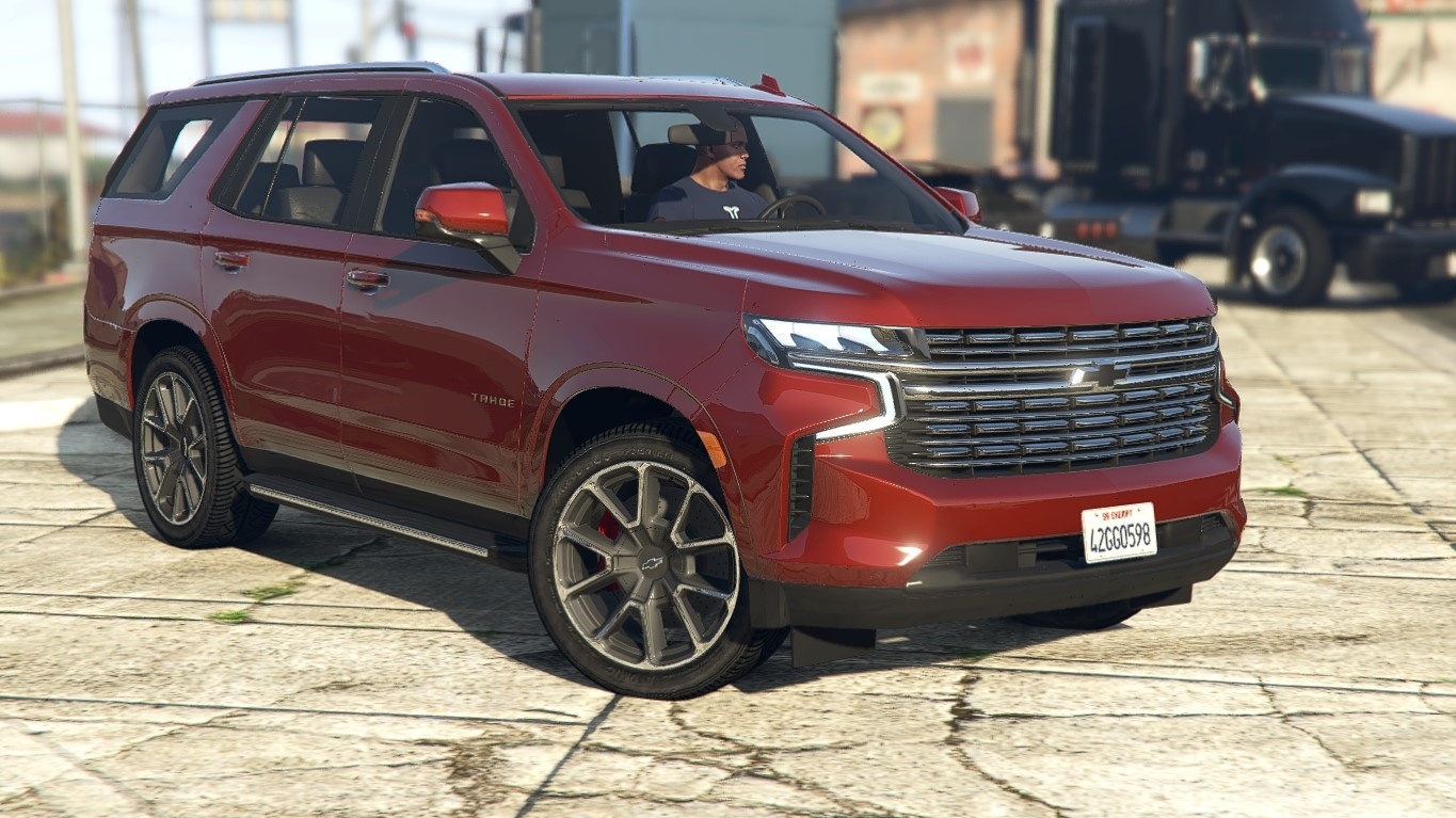 2021 Chevrolet Tahoe RST   [Add-On] 1.0