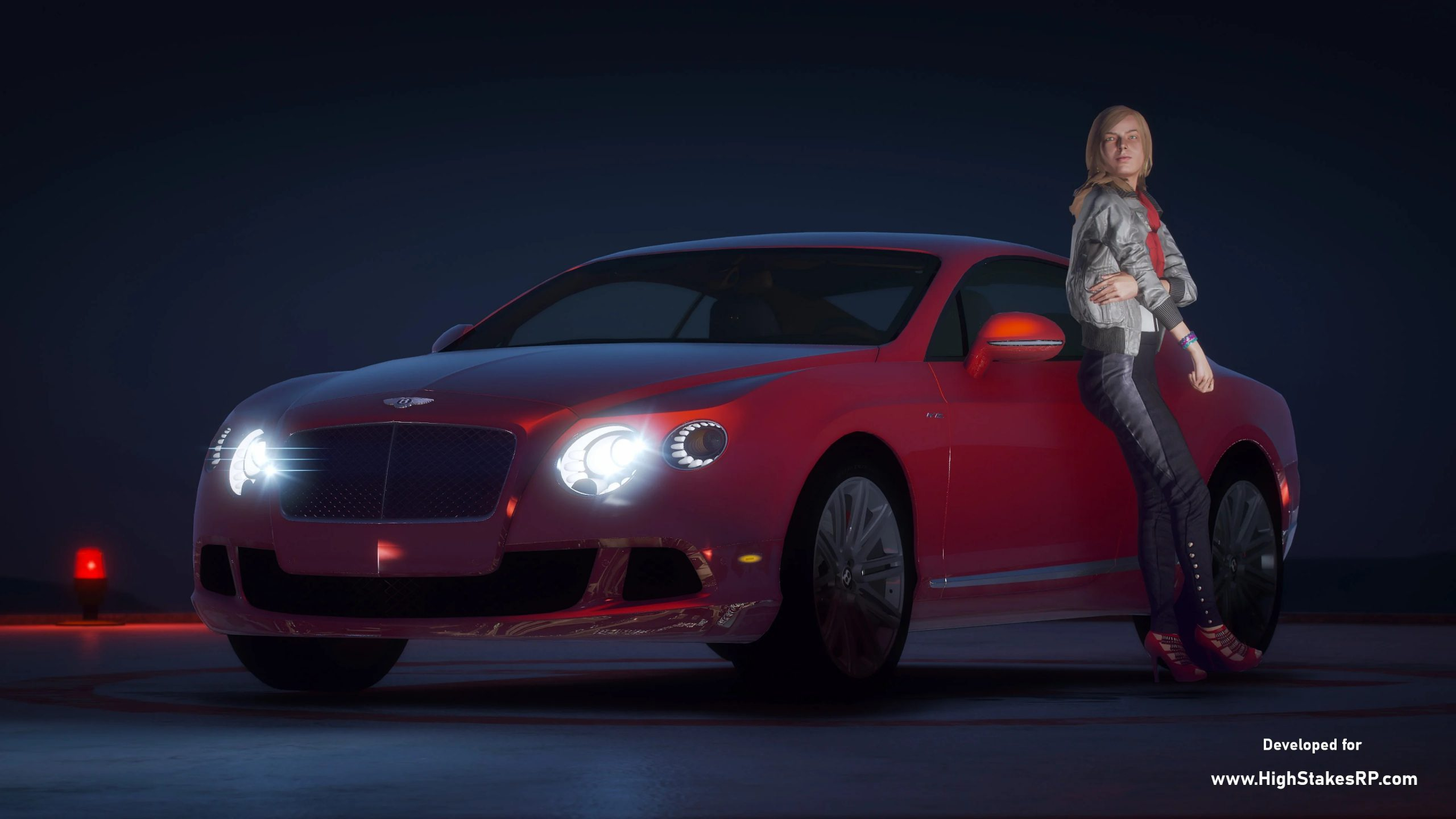 Bentley Continental GT Speed 2013 [Add-On   LODs   Template] 1.1a