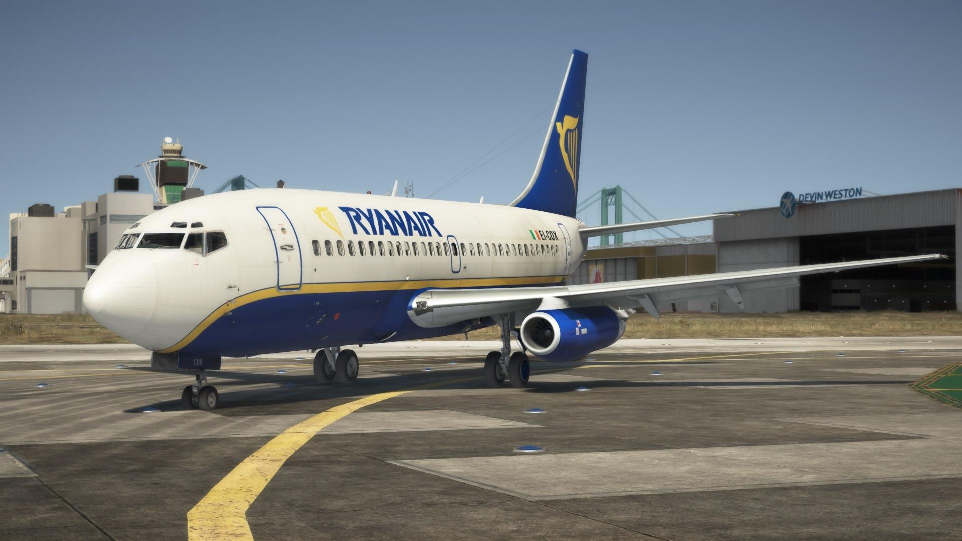 Boeing 737-200 Ryanair Livery 1.0