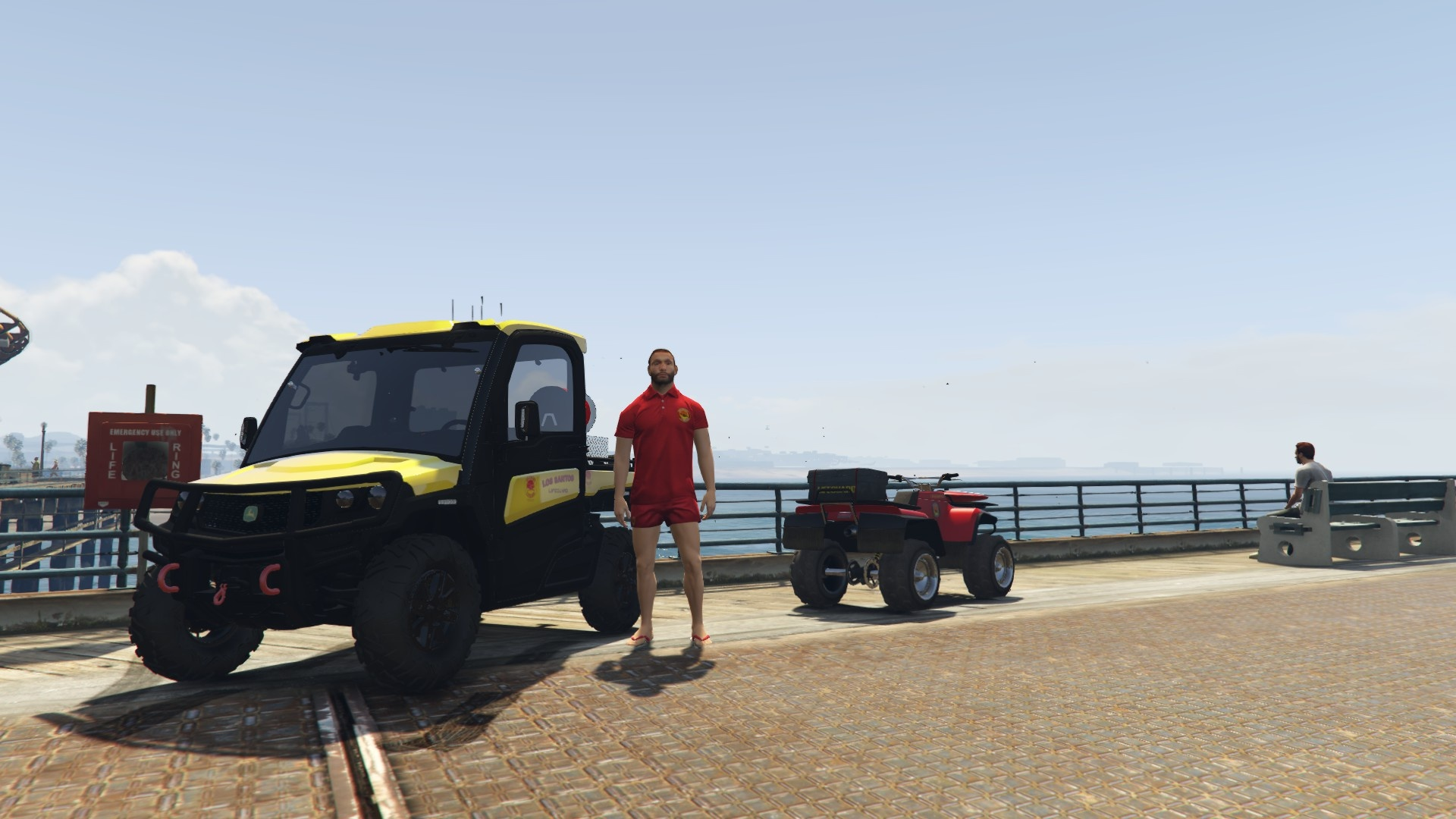 Buggy Lifeguard [Replace] 1.0