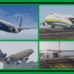 Civil Aircrafts Pack / Passenger & Cargo [Add-On / Dlc Mod] 8.0