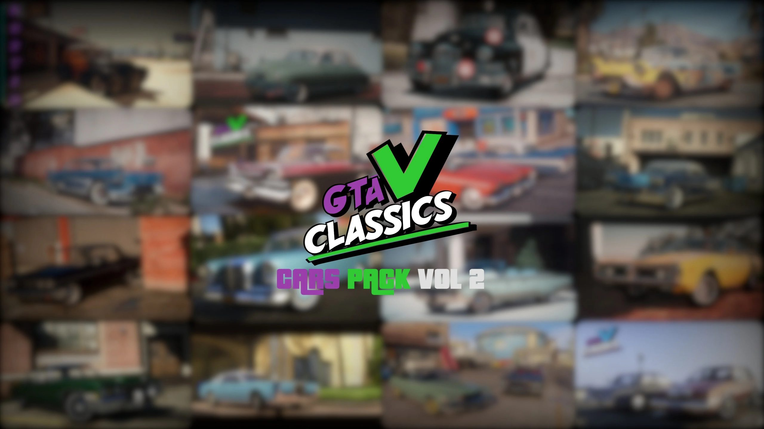 Classic Cars Pack Vol-2 [Add-On] 1.0