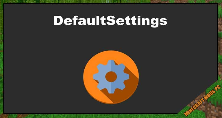 DefaultSettings