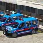 Doblo Multi Jet 2008 Turkish Gendarmerie [ELS] v1