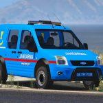 Ford connect Turkish gendarmerie