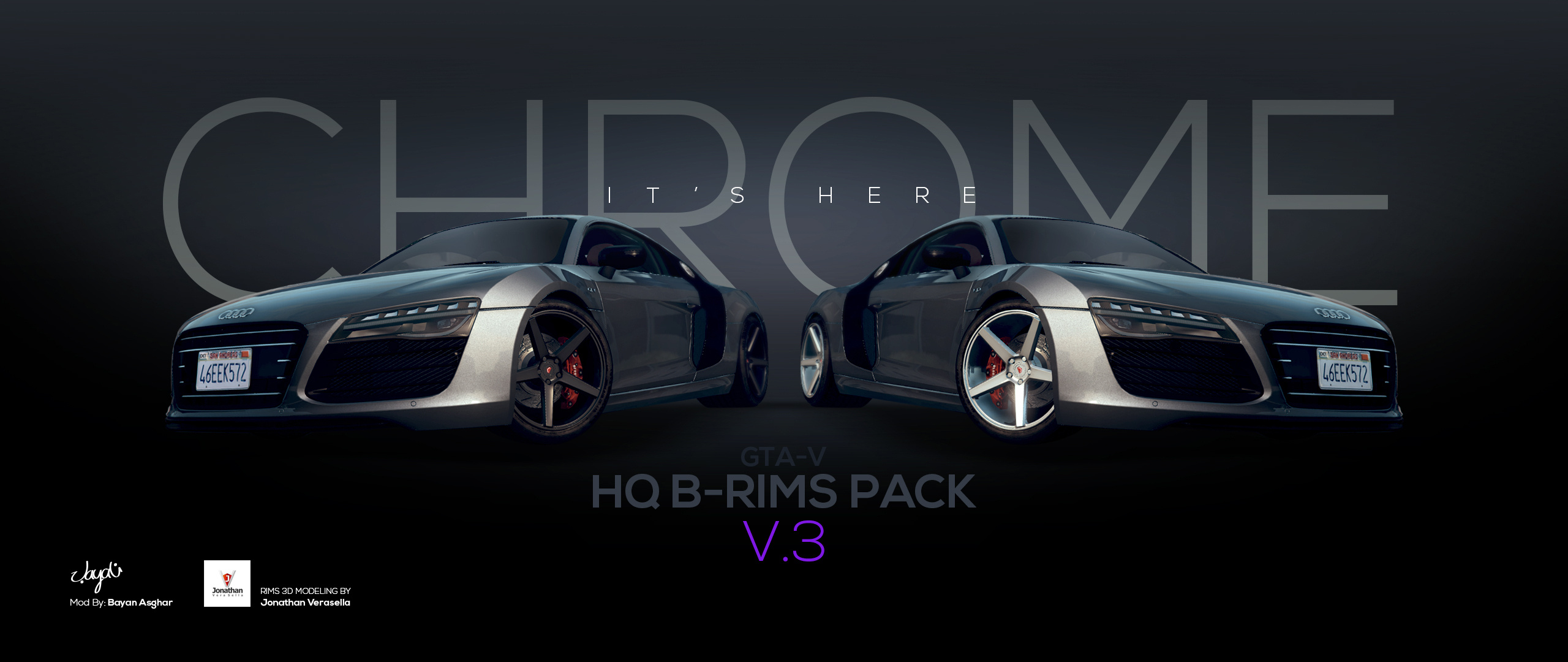 HQ B-Rims Pack #1 [Add-On / Replace] 3.0