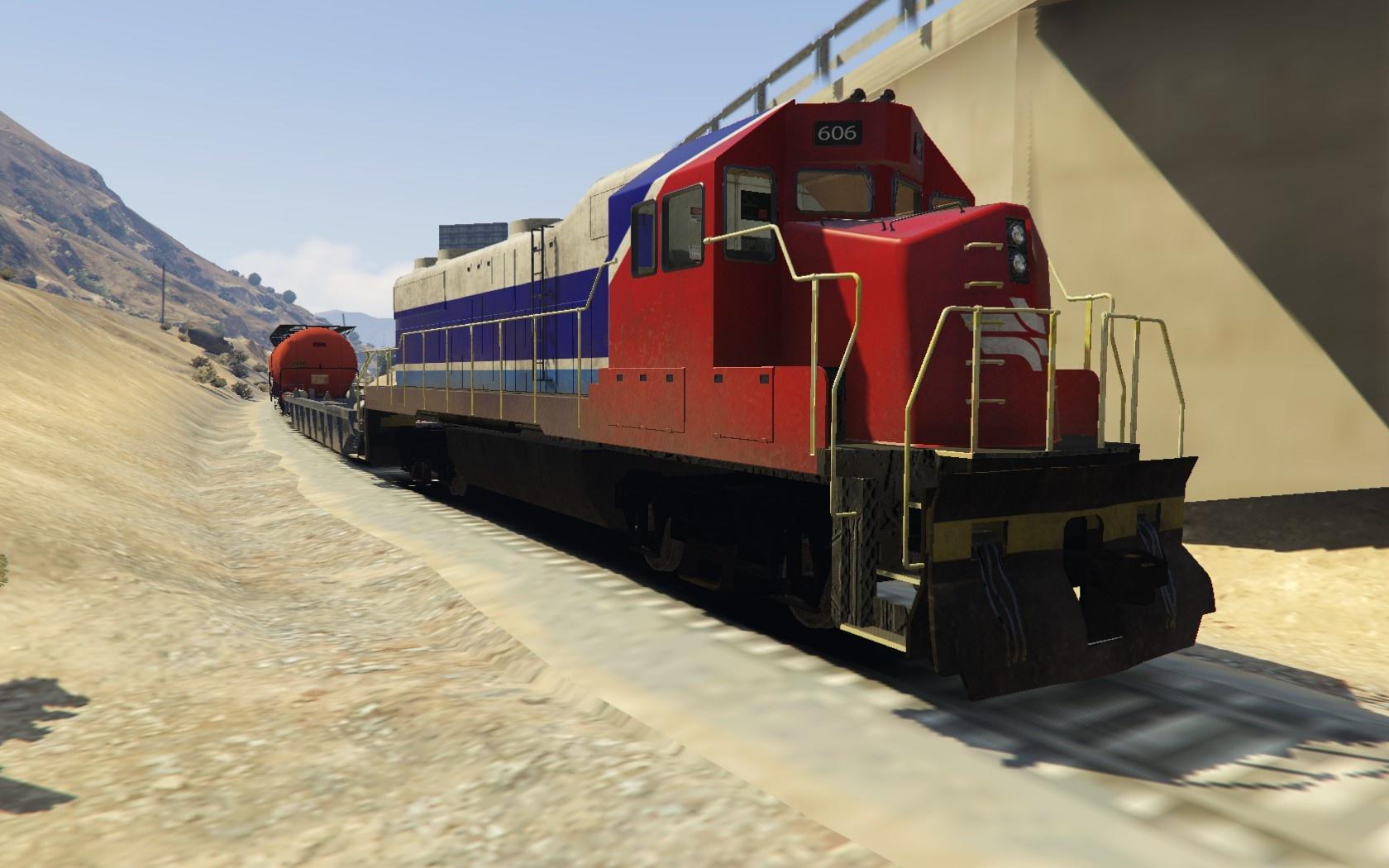 Israel Railways Freight Train 1.0
