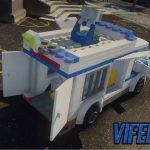 Lego City Police prisoner transporter [ELS] 0.2