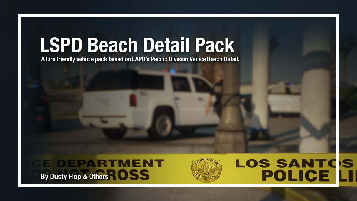 LSPD Beach Detail Pack [Add-on] 1.0