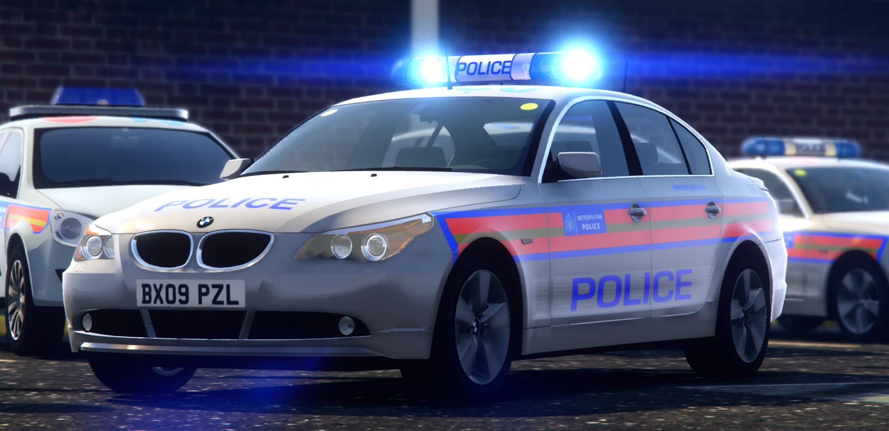 Met Police CO19 E60 | HALOGEN | [ELS/REL] FINISHED