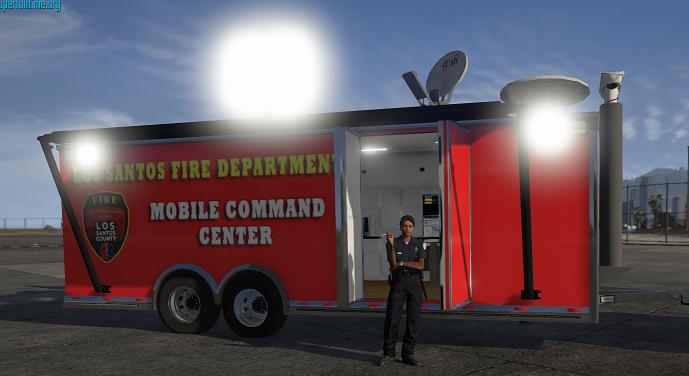 Mobile Command Trailer (non els) (els) 1.00b nonels