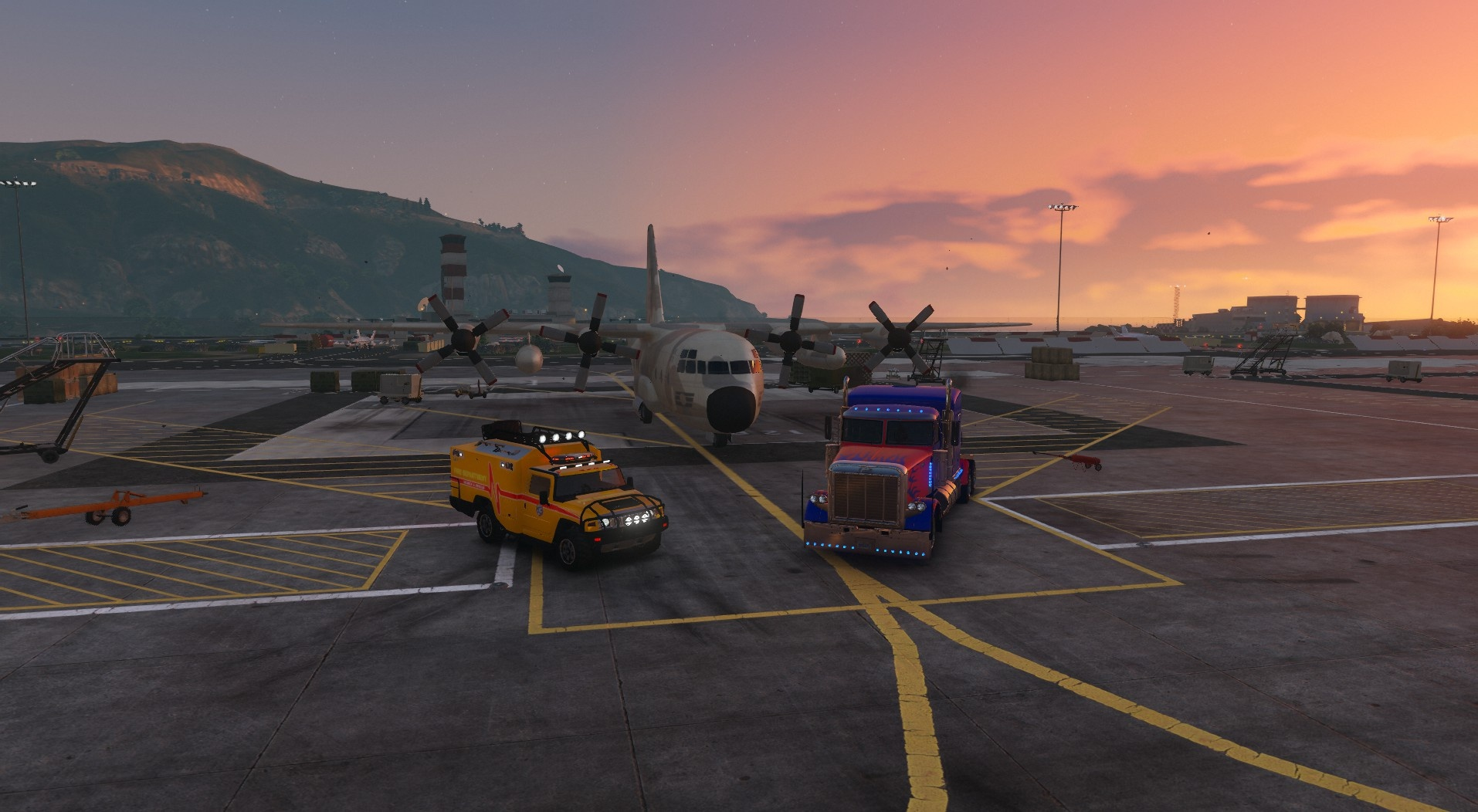 Movie Car - Autobots Pack [Add-on | Template] 1.2
