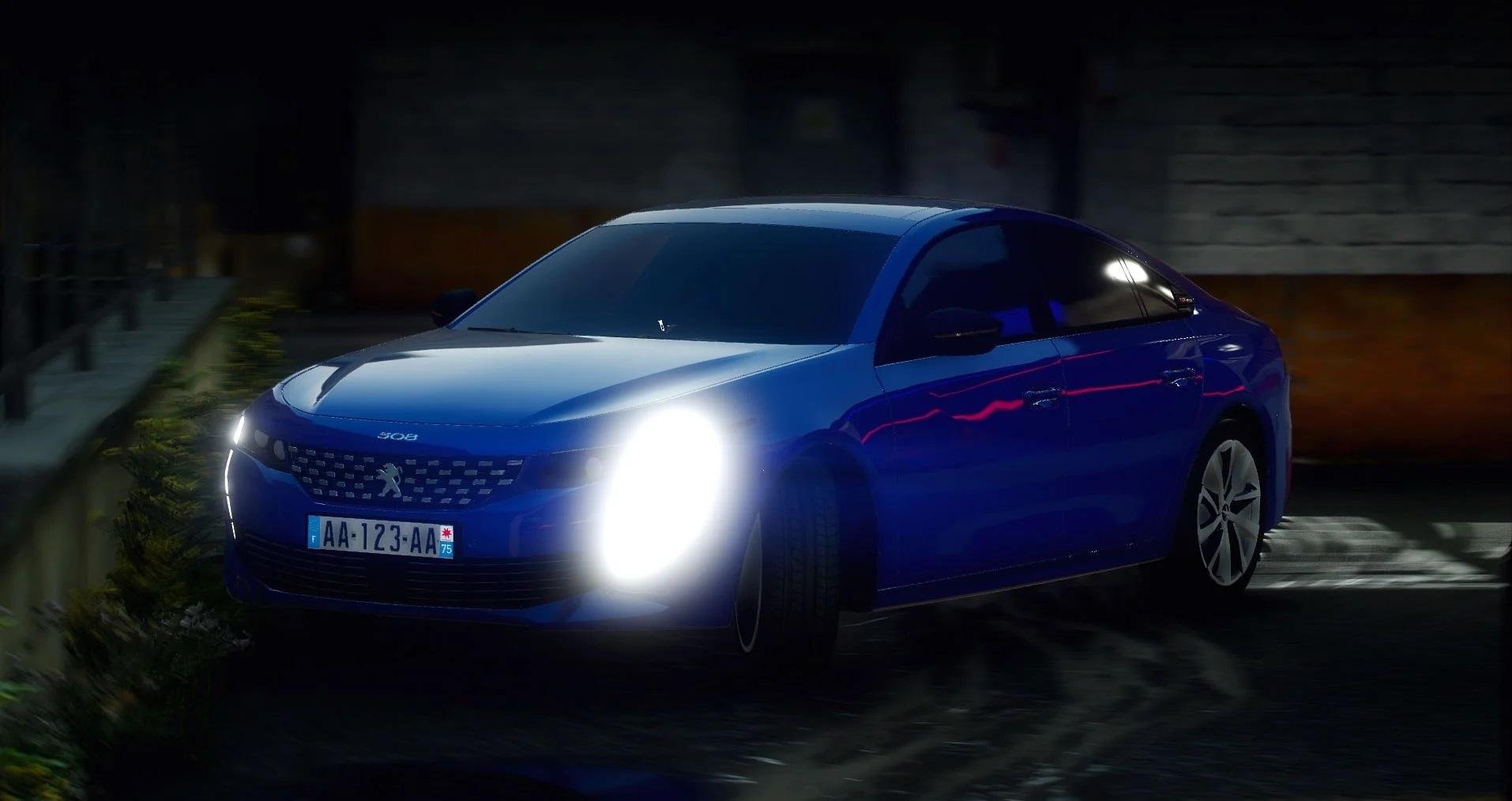 Peugeot 508 GT Line [Add-On] 1.1