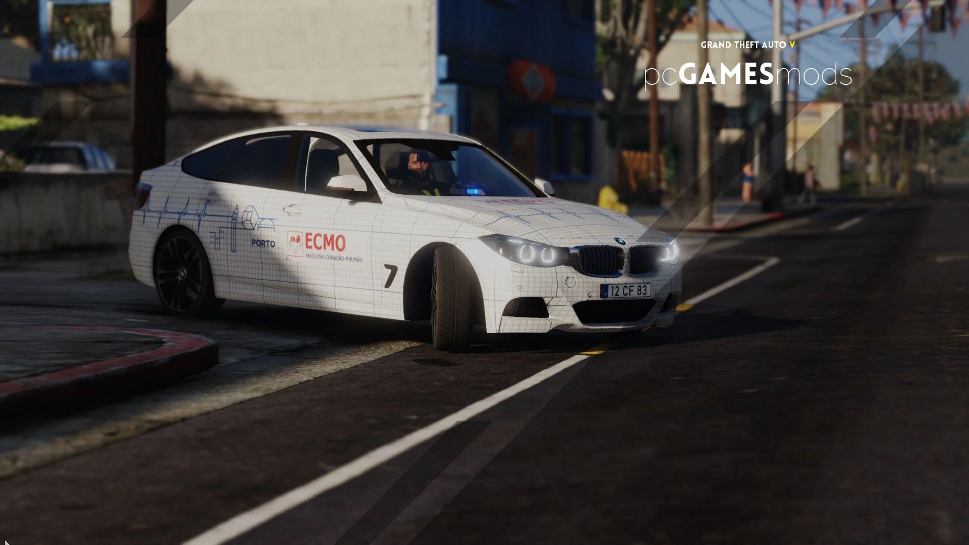 Portuguese BMW 3-SERIES GT - ECMO Extracorporeal Membrane Oxygenation [ AddOn ] 1.0