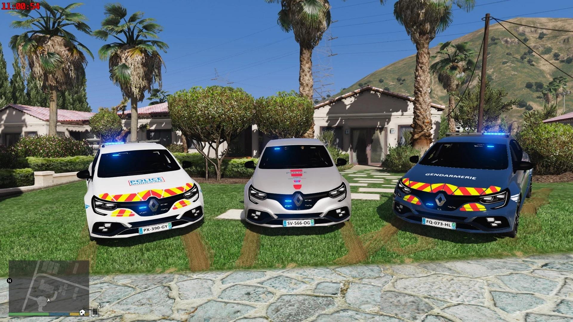 Renault megane RS trophy French gendarmerie and police [noELS-ELS]