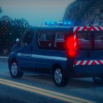 Renault Trafic 2013 Gendarmerie [ELS]   [REFLECTIF] 1