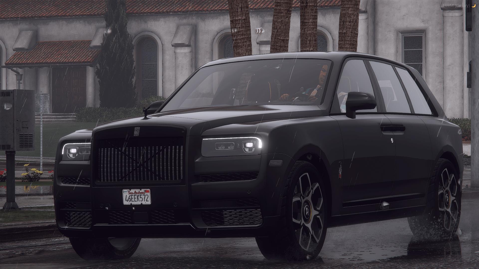 Rolls Royce Cullinan Black Badge [Add-On / Replace | FiveM | LODs] 1.1