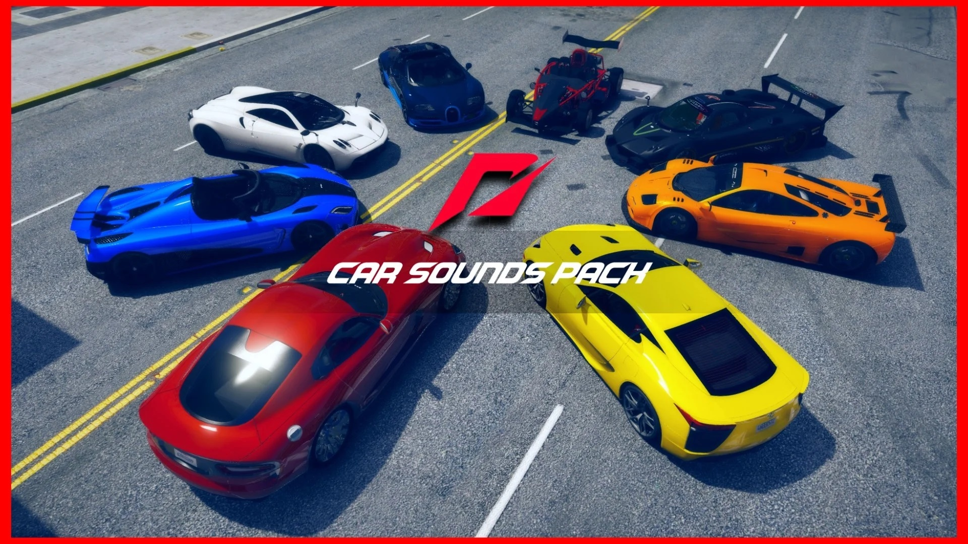 The Ultimate Need for Speed Car Sounds Pack 1.0