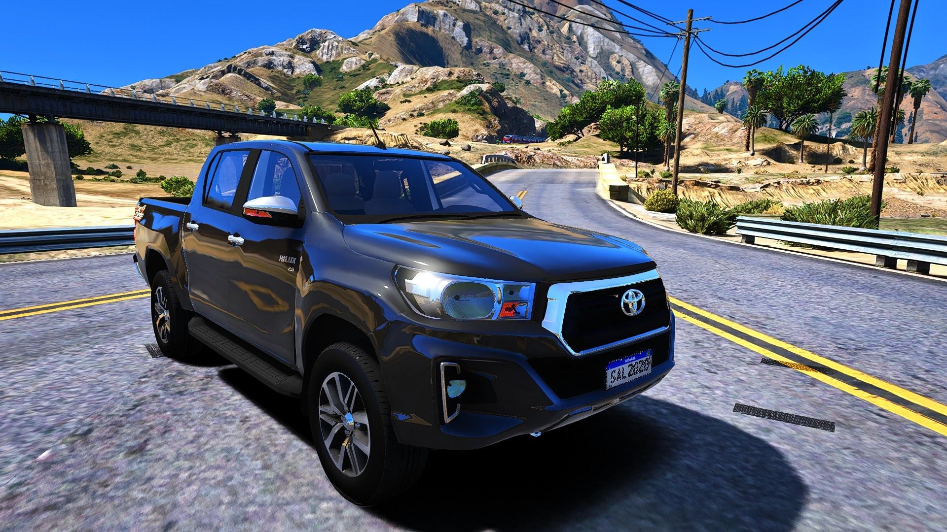 Toyota Hilux 2019 [Addon FiveM | Replace Offline] 1.0