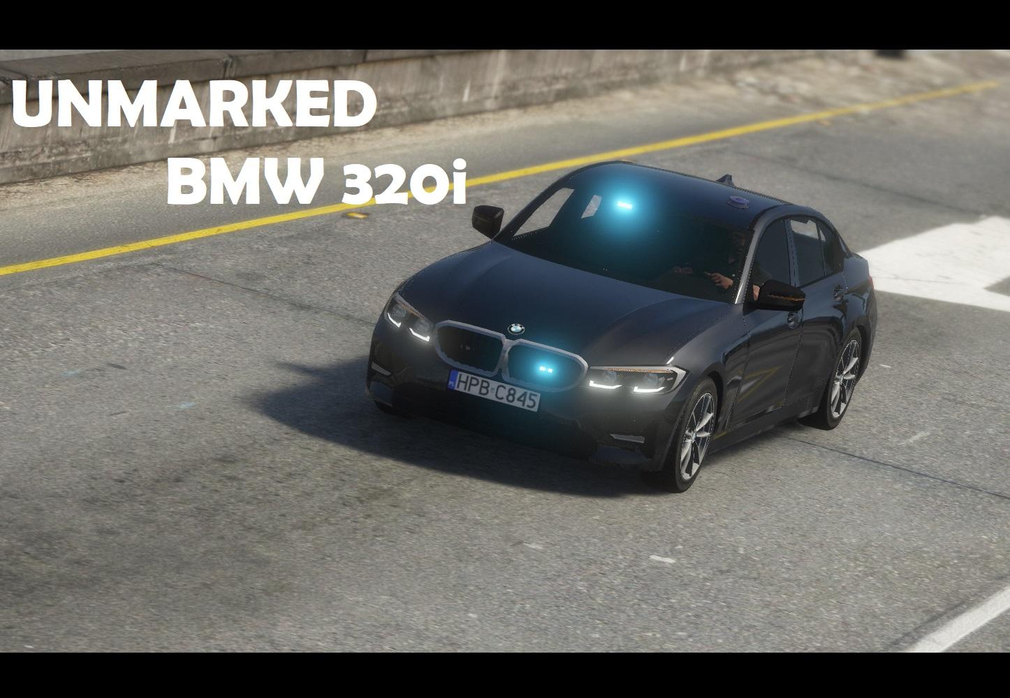 Unmarked BMW 320i Polskiej Policji