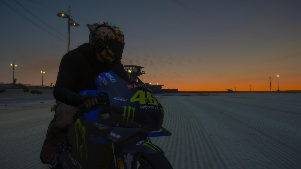 Yamaha YZR M1 2020 MotoGP [Add-On] Fix model fix