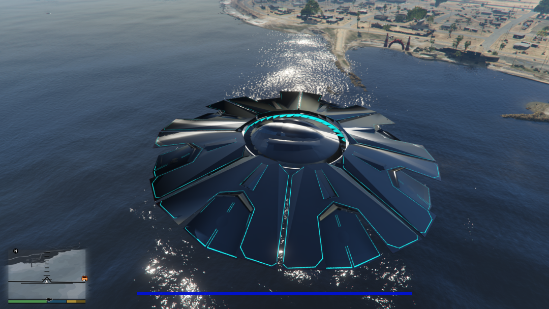 Zancudo Fort UFO [Add-On] 0.1