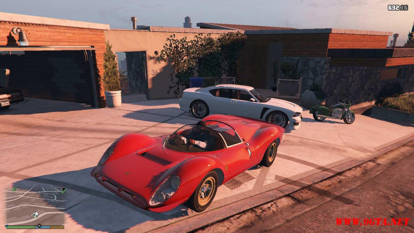 1967 Ferrari 330 P4 GTA5 Mods (1)