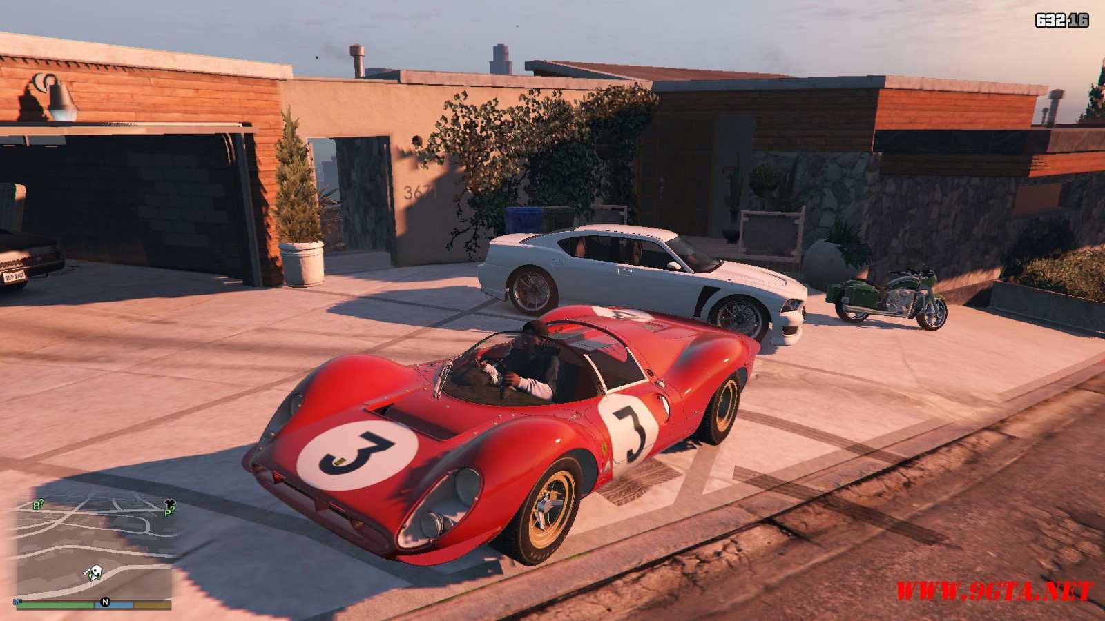1967 Ferrari 330 P4 GTA5 Mods (2)