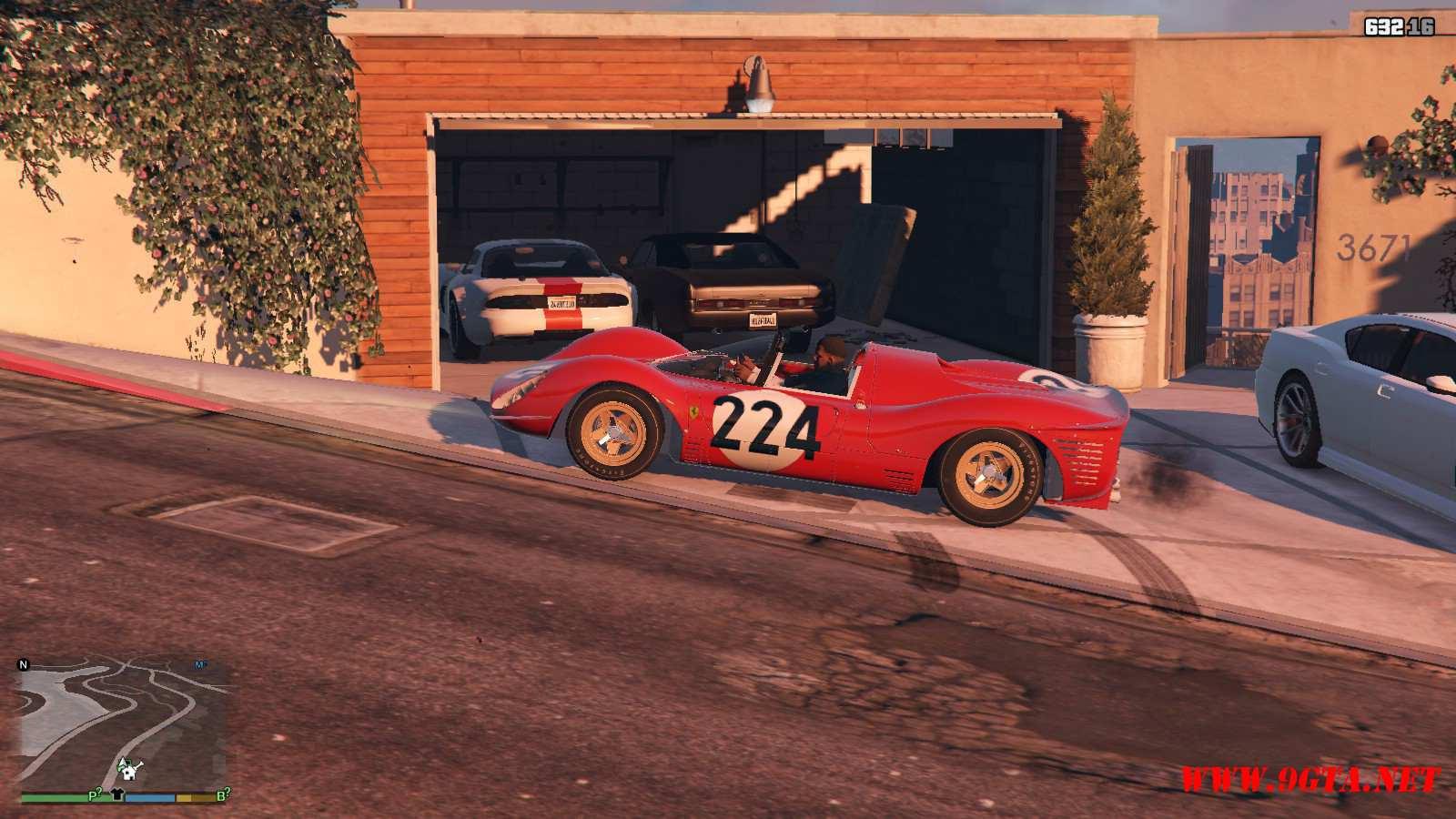 1967 Ferrari 330 P4 GTA5 Mods (22)