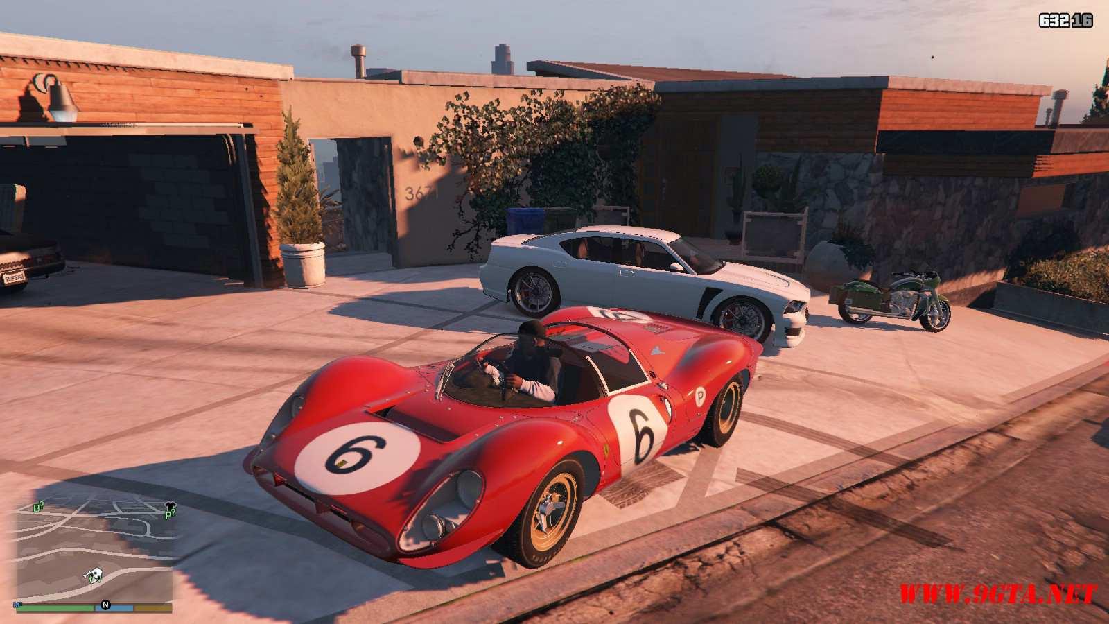 1967 Ferrari 330 P4 GTA5 Mods (3)