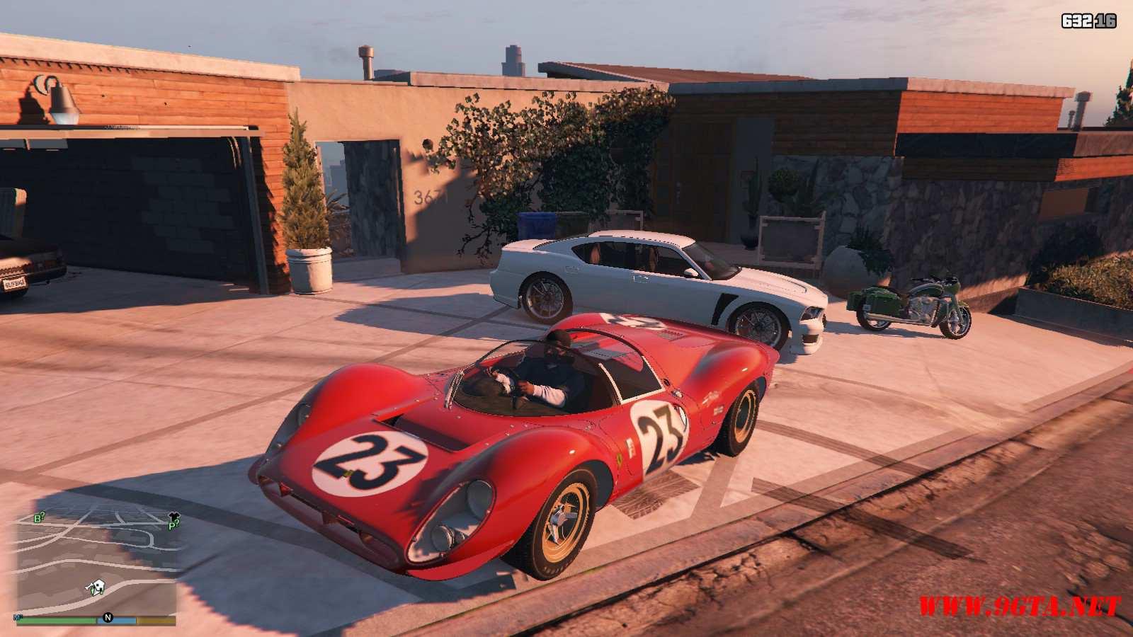1967 Ferrari 330 P4 GTA5 Mods (5)