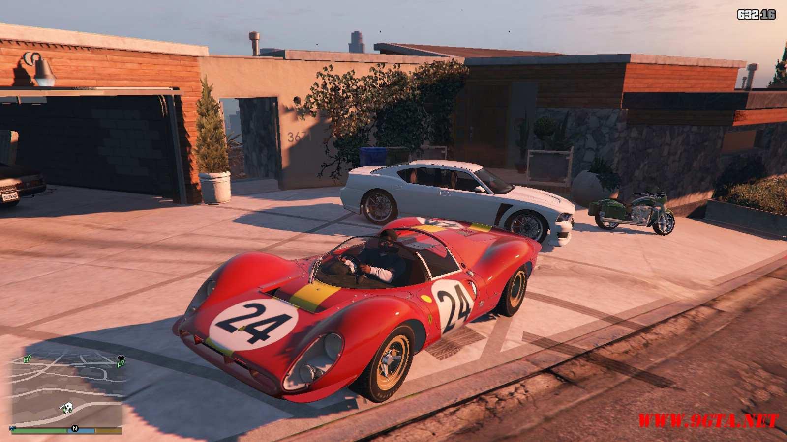 1967 Ferrari 330 P4 GTA5 Mods (6)