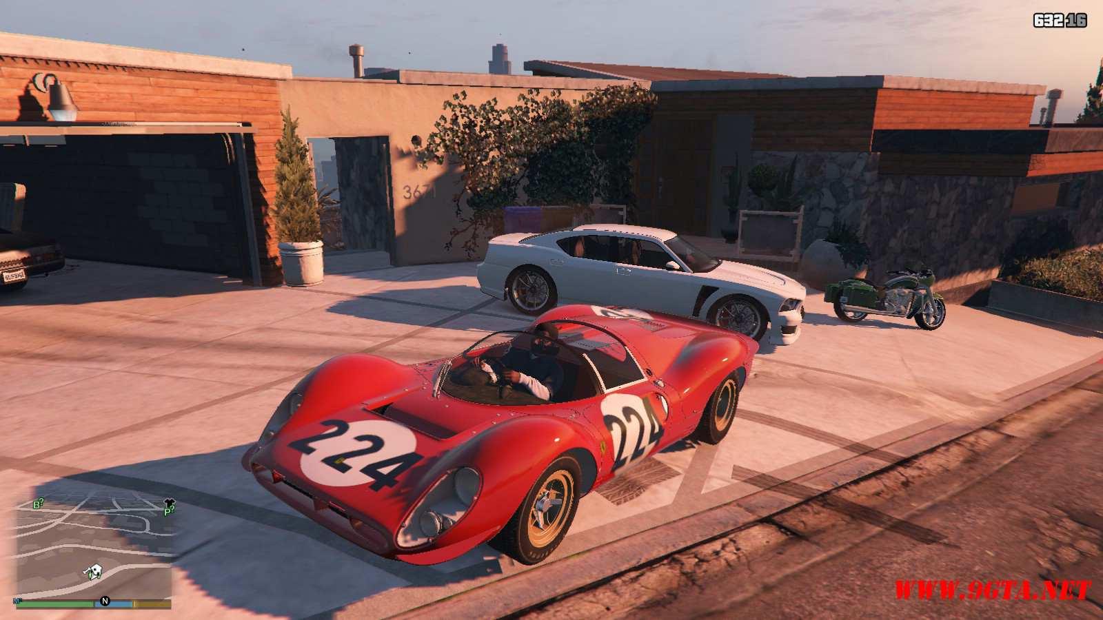 1967 Ferrari 330 P4 GTA5 Mods (7)