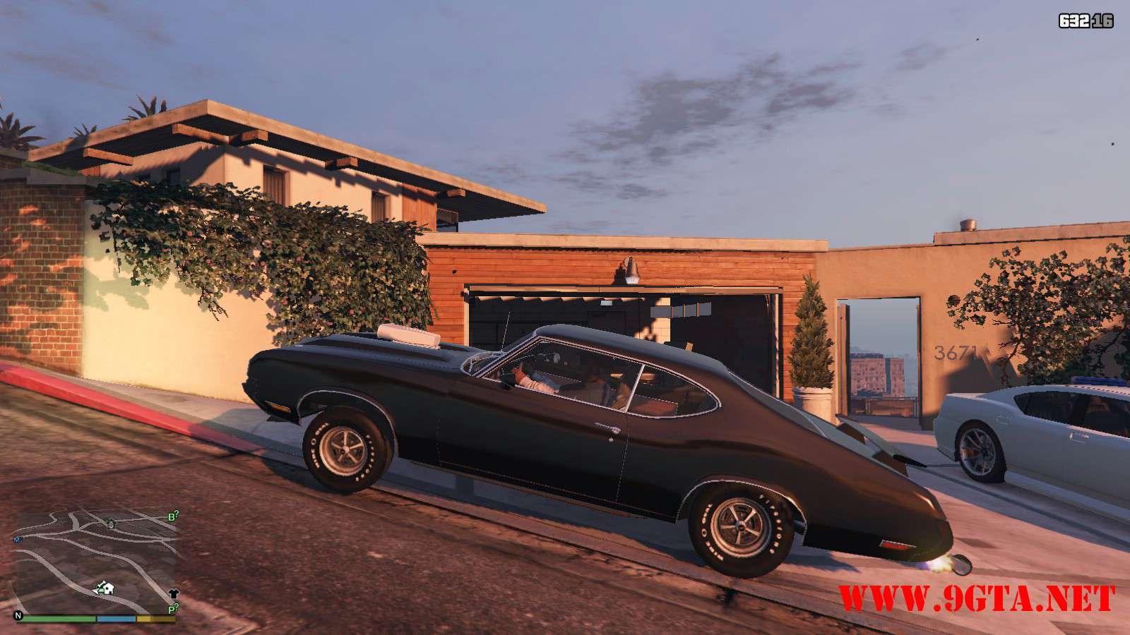 1970 Oldsmobile 442 GTA5 Mods (21)