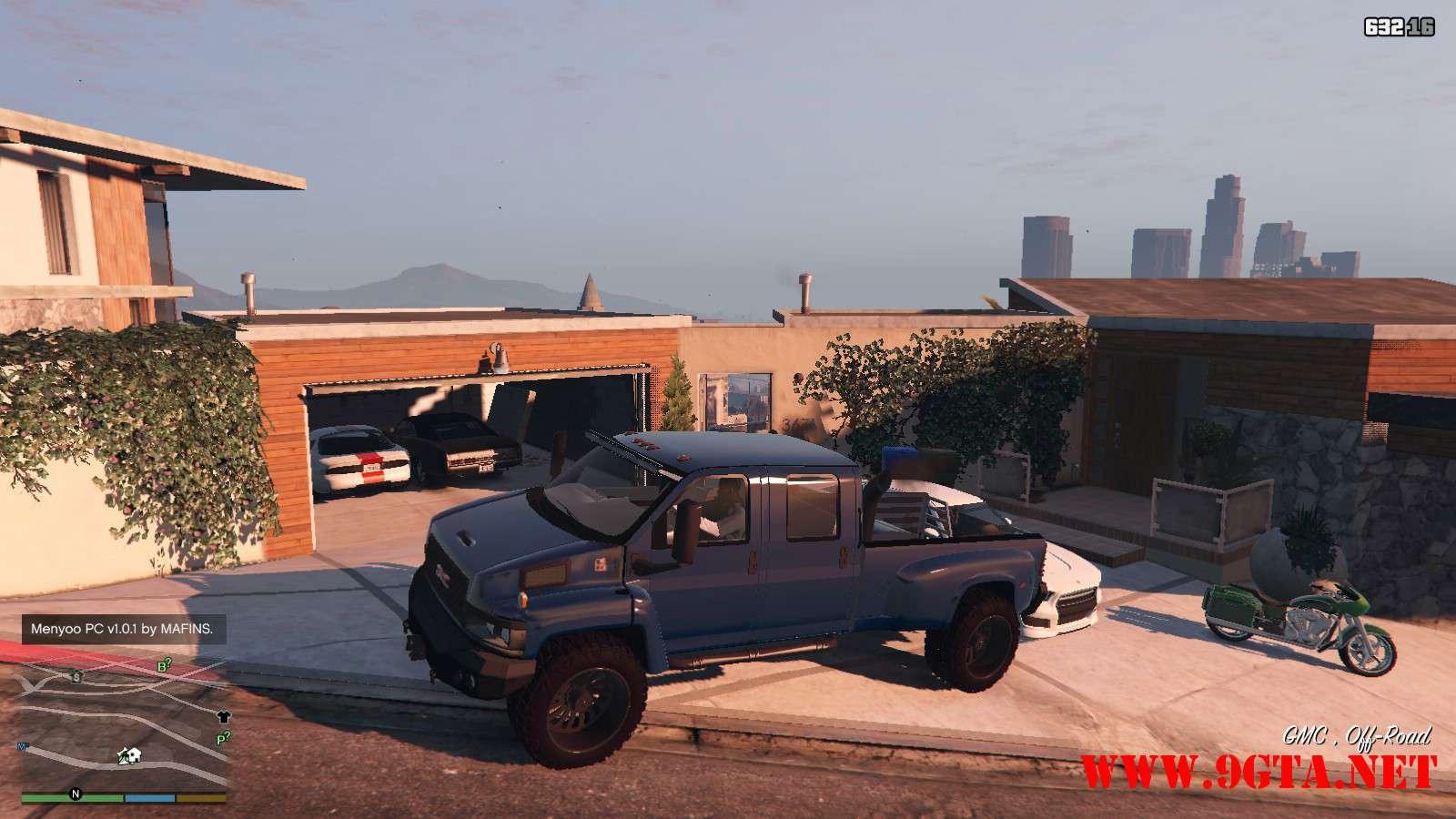 2009 GMC Topkick Truck GTA5 Mods (1)