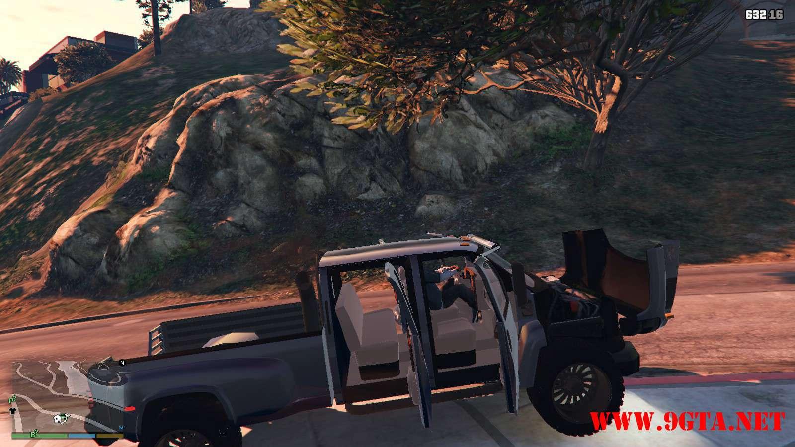 2009 GMC Topkick Truck GTA5 Mods (10)