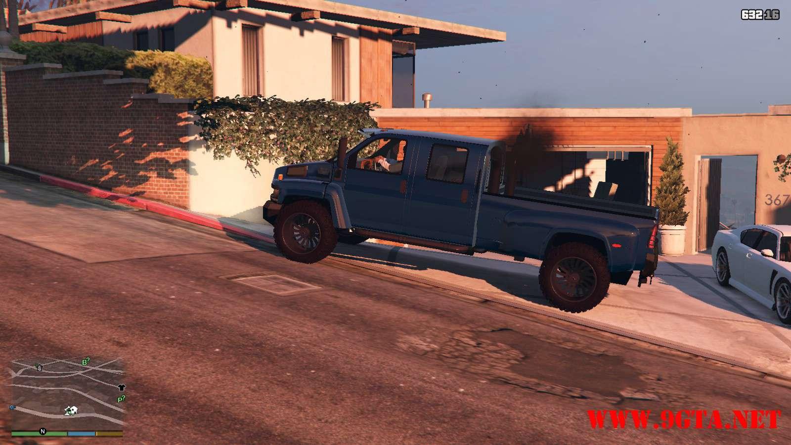 2009 GMC Topkick Truck GTA5 Mods (13)