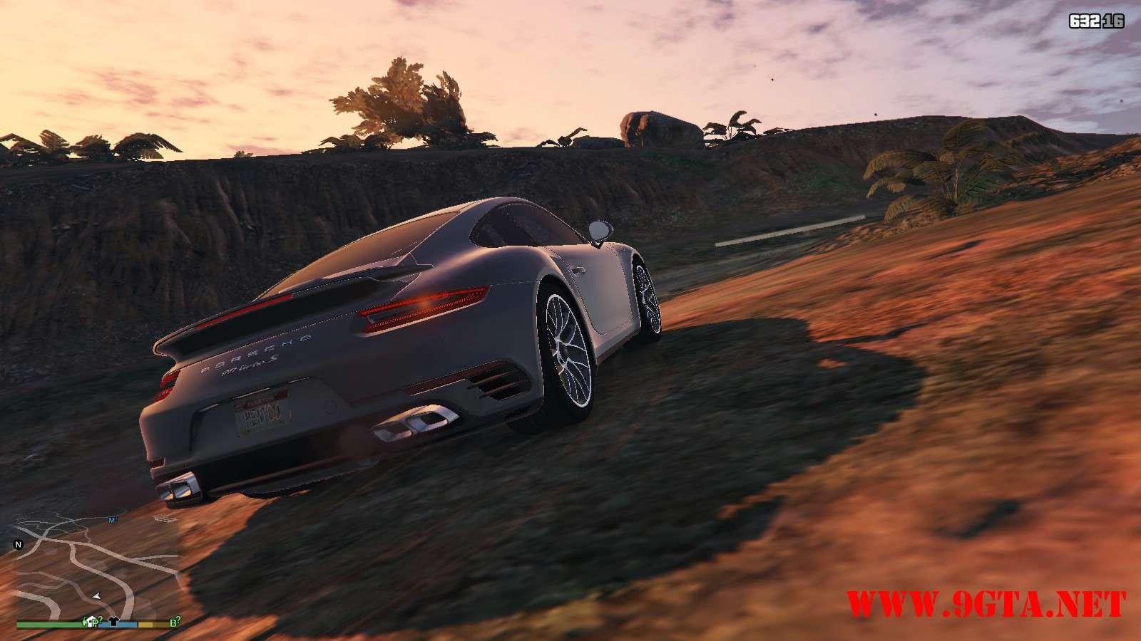2016 Porsche 911 Turbo S GTA5 Mods (13)