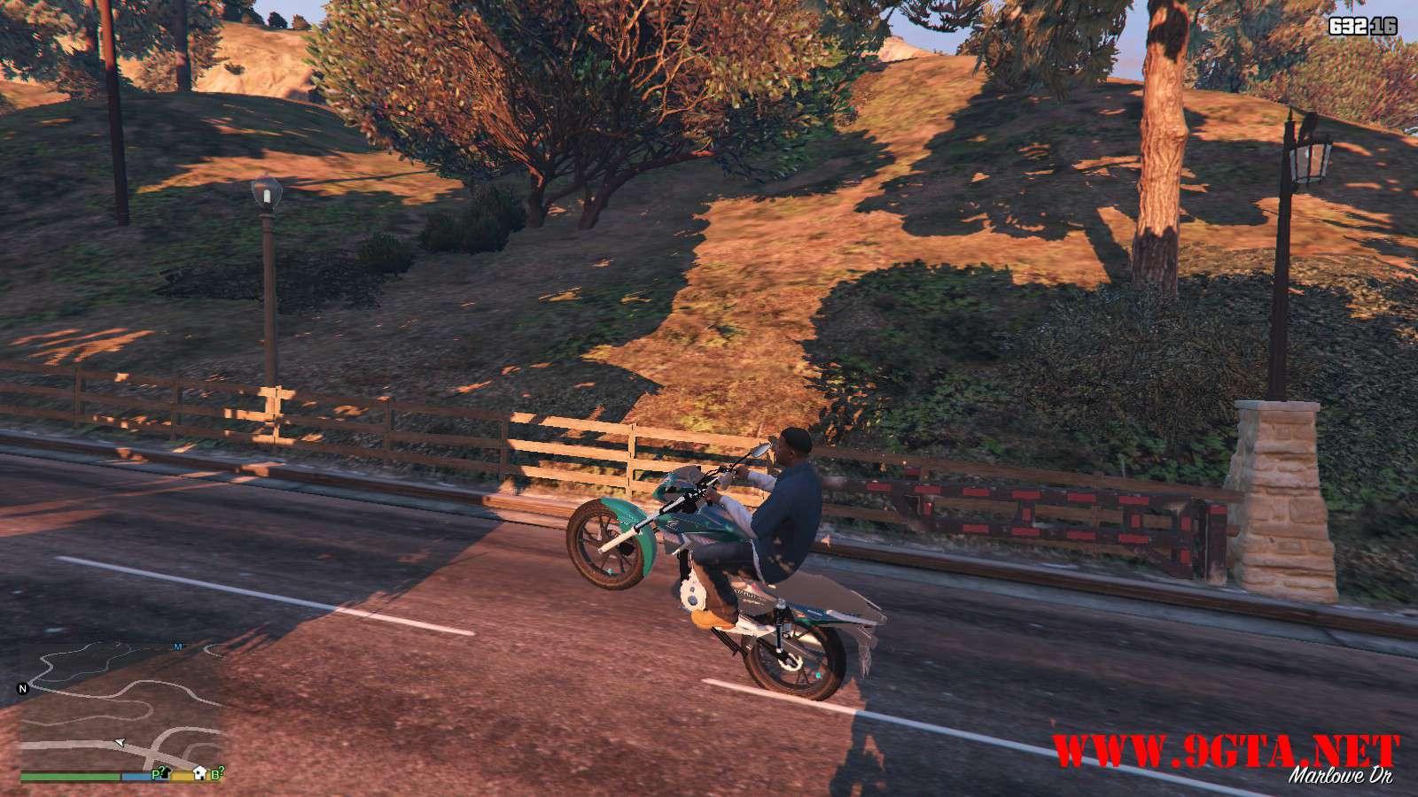 2016 Titan 160 Motocycle GTA5 Mods (14)