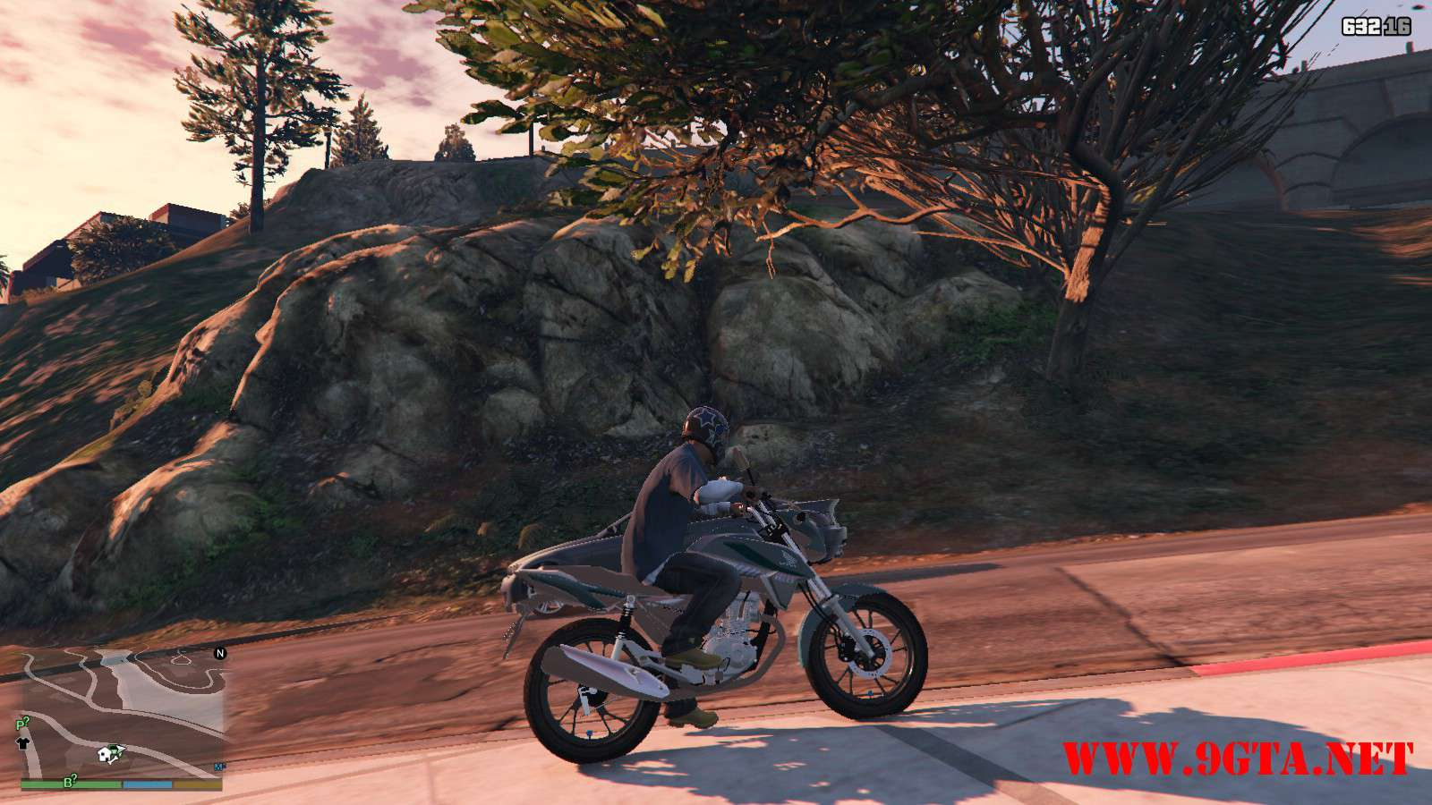 2016 Titan 160 Motocycle GTA5 Mods (4)